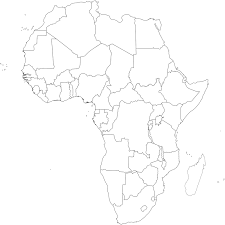 Blank Map Of Africa by The More Useful Interesting And Curious Maps Of Africa Africanidad