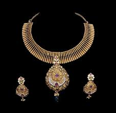 antique jewelry necklace images Women 39 s world designer antique gold necklace jpg