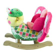 Country Song Rocking Chair Butterfly Rocker Rockabye