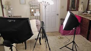 my lighting filming set up for