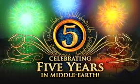 5th anniversary gifts the lord of the rings online celebrates 5th anniversary gamingshogun
