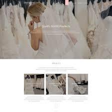 bridal websites wedding shop templates templatemonster