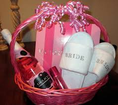 bridal shower gift baskets bridal shower gift ideas she ll adore spa slippers wedding