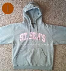quick u0026 easy diy hoodie makeover