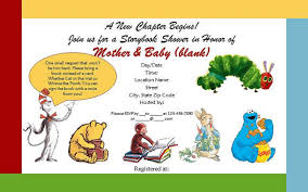storybook themed baby shower storybook themed baby shower invitations theruntime