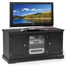50 inch tv black friday amazon amazon com leick black hardwood tv stand 50 inch kitchen u0026 dining