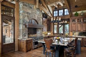 Cabin Kitchen Designs Rustic Cabin Kitchens Room Image And Wallper 2017