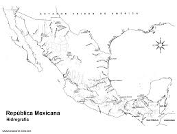 Louisiana Plantations Map by Mexican Rivers Map Mexico Hydrology Biology And Geology