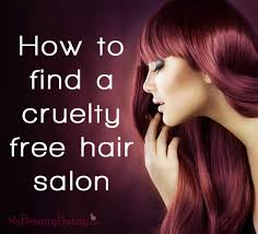 how to find a cruelty free hair salon