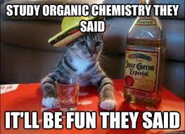 Organic Chemistry Meme - study organic chemistry they said chemistry jokes