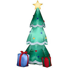 amazon com accoutrements inflatable christmas tree toys u0026 games