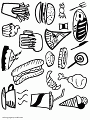 healthy food coloring pages preschool healthy food coloring pages food groups