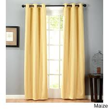 yellow grommet curtains home fashion designs collection blackout