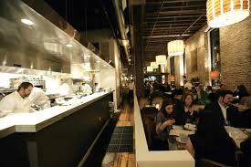 open kitchen restaurant hospitality interior design of salt house