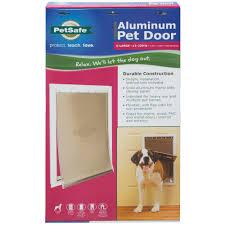 petsafe freedom aluminum pet door x large by petsafe at mills