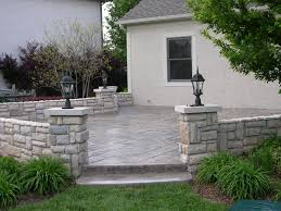 Backyard Concrete Patio Ideas by Patio New Simple Concrete Patios Decorations How To Install