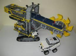 lego technic bucket wheel excavator bucket wheel excev3tor a mindstormified bwe ev3 lego technic