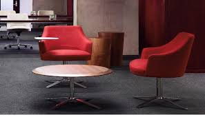 Reception Lounge Chairs The Office Leader Cumberland Clover Reception Lounge Swivel Tablet