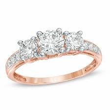 stone rings pictures images Three stone rings rings zales jpg