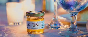 honey jar wedding favors unique honey jar favors honey wedding favors