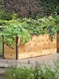 Cedar Raised Garden Bed Elevated Cedar Raised Bed Kit Elevated Bed Made In Vermont