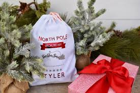 personalized christmas for kids diy personalized christmas sack for kids make lovely