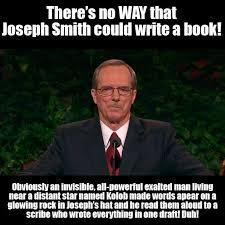 Joseph Smith Meme - it s so obvious exmormon