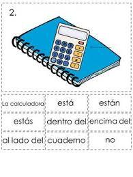 prepositions of location spanish sentence writing station