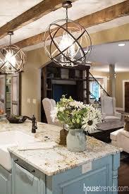 Hanging Kitchen Island Lighting Stunning Hanging Pendants Over Kitchen Island Rustic Reclaimed