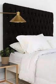Velvet King Headboard Elegant Black Velvet Headboard Black Cal King Headboard Skyline