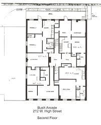 Efficiency Apartment Floor Plans Bush Arcade Building Efficiency Apartments In Bellefonte Pa 16823