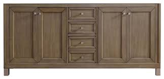 bathroom vanity cabinet no top great chicago 72 white washed walnut double vanity transitional