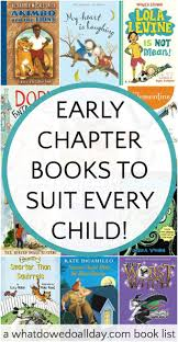 early chapter books to match every child u0027s interest gift guide