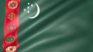 Flag Of Turkmenistan Turkmenistan Animated Flag Youtube