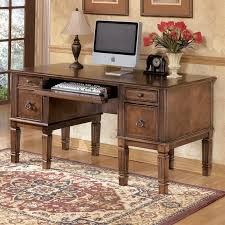 ashley furniture writing desk ashley furniture hamlyn office desk in medium brown h527 26