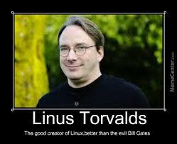 Creator Of Memes - linus torvalds the good linux creator by mihaitare27 meme center