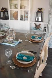 Beach Dining Room Sets by Simple Coastal Inspired Tablescape U2022 Our House Now A Home