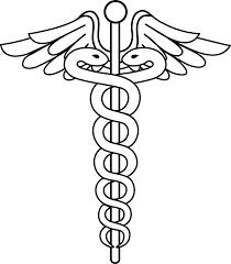 caduceus medical logo lineart patterns pinterest medical