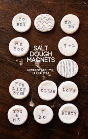 salt dough magnets gimme some style