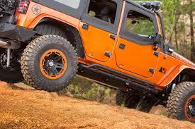 jeep wrangler 4 door orange amazon com rugged ridge 11504 22 rrc textured black rocker guard