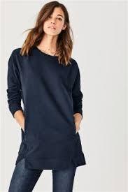 womens tunic tops plain print tunics next uk