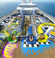 Allure Of The Seas Floor Plan World U0027s Largest Cruise Ship Harmony Of The Seas Leaves Port For