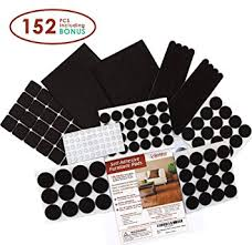 premium felt furniture pads set 152 pieces including bonus