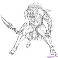 goblin coloring pages getcoloringpages com