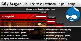 theme drupal menu block city magazine the most advanced drupal theme by themesmania