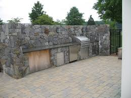 faux stone panels lowes outdoor kitchen kits costco how to build