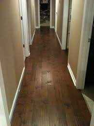Floating Floor For Basement by Hallway Of Engineered Hardwood I Installed This Like A Floating