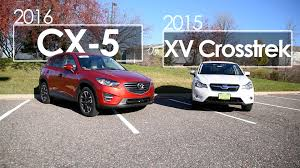 cx 5 xv crosstrek model comparison 2016 u0026 2015 driving