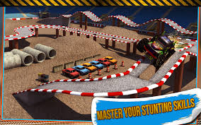 bigfoot monster truck games 4x4 monster truck stunts 3d android apps on google play