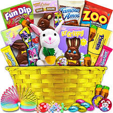 premade easter baskets classic easter gift basket yellow premade and shrink wrapped
